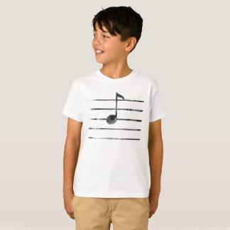 Camiseta Arte da nota da música