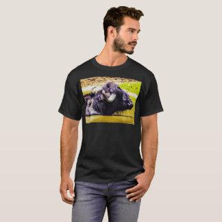 Camiseta Arte de Digitas do búfalo 01 - T