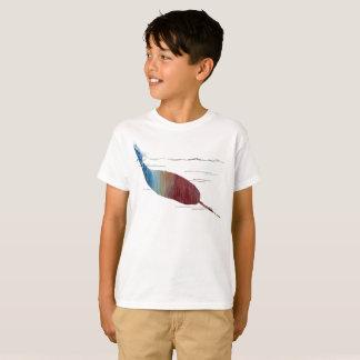 Camiseta Arte de Narwhal