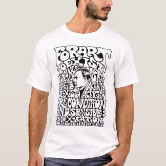 Camiseta Arte de Nietzche