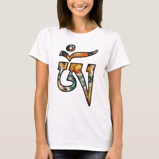 Camiseta Arte de Tibetian AUM