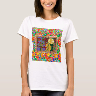 Camiseta Arte decorativa dos símbolos curas de Reiki