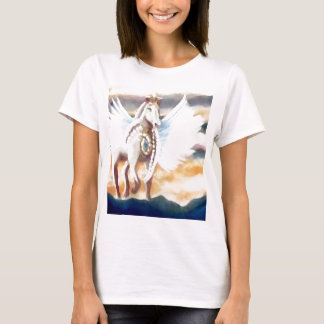 Camiseta Arte & design voados de Pegasus CricketDiane