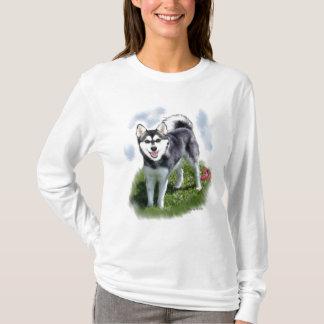 Camiseta Arte do Alasca de Klee Kai