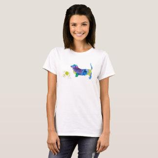 Camiseta Arte do cão de Basset