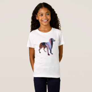 Camiseta Arte do cão de Brittany