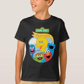 Camiseta Arte do caráter do Sesame Street
