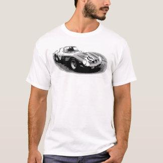 Camiseta Arte do carro de corridas do vintage