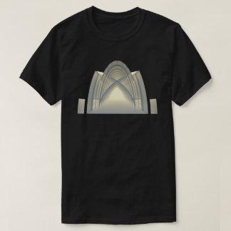 Camiseta Arte do conceito da arquitetura do arco 01 da
