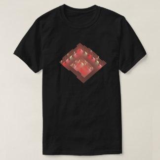 Camiseta Arte do conceito da arquitetura do distrito de luz