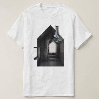 Camiseta Arte do conceito da arquitetura do fumo 01 da