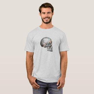 Camiseta Arte do crânio