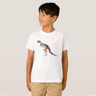 Camiseta Arte do esqueleto do rex do tiranossauro