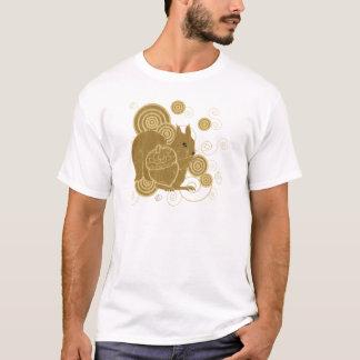 Camiseta Arte do esquilo