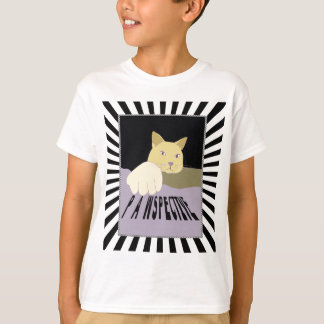 Camiseta Arte do gato de Pawspective na perspectiva