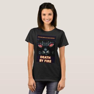 Camiseta Arte do livro por K.D. Kromminga--Morte pelo fogo