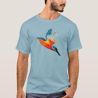Camiseta Arte do martinho pescatore do vôo