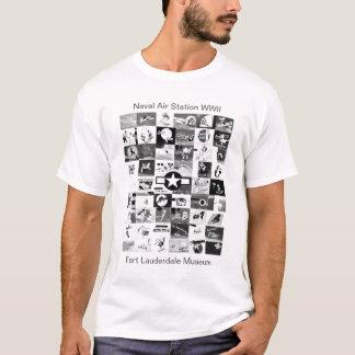Camiseta Arte do nariz de aviões