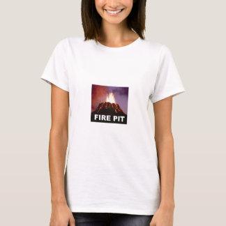 Camiseta arte do poço do fogo