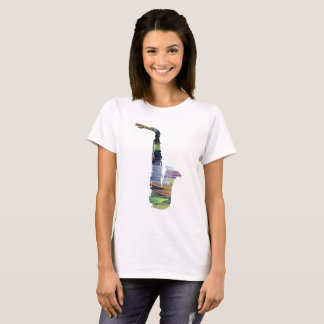 Camiseta Arte do saxofone