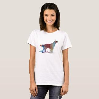 Camiseta Arte do setter inglês