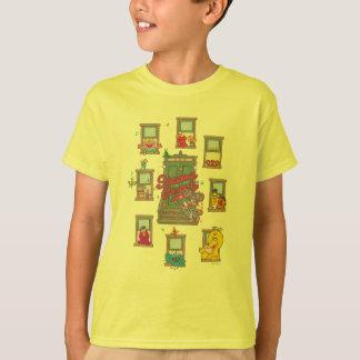 Camiseta Arte do vintage da janela