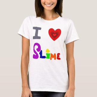 Camiseta Arte engraçada do limo do amor de I