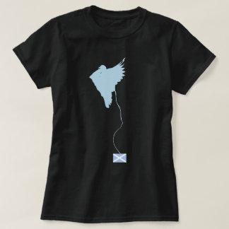 Camiseta Arte escocesa do ninho do pássaro da independência