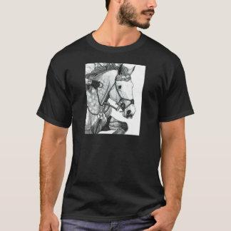 Camiseta Arte EVENTING EXTREMO do cavalo