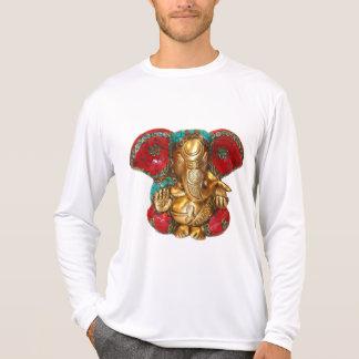 Camiseta Arte indiana do templo Hindu da estátua de bronze
