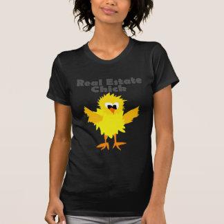 Camiseta Arte legal do pintinho dos bens imobiliários