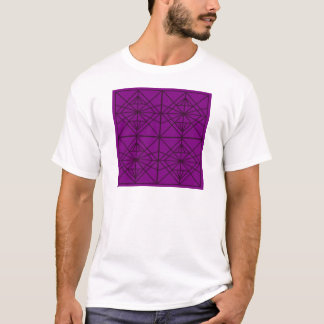Camiseta Arte luxuosa geométrica de Marrocos/edição de