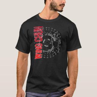 Camiseta Arte marcial científica de Chun da asa