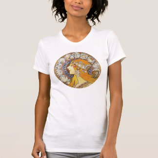 Camiseta Arte Nouveau do vintage