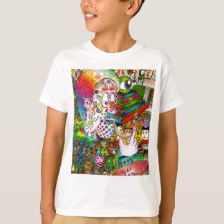 """Camiseta """"Arte original do acidente dePensamento"""" por"""