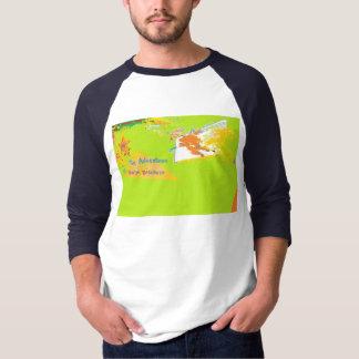 Camiseta Arte original do combustível de Rocket por E J