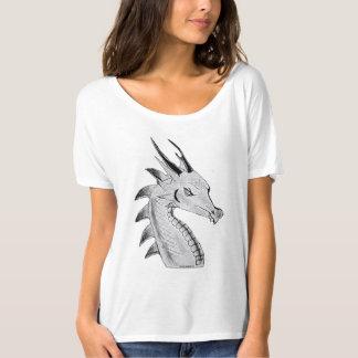 Camiseta Arte original do dragão