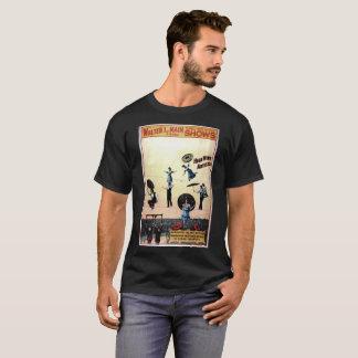 Camiseta Arte-Poster-Propaganda-Circo-Acrobatas