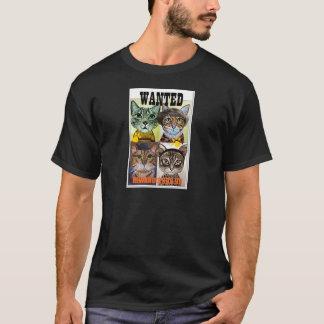 Camiseta Arte querida do poster do gato