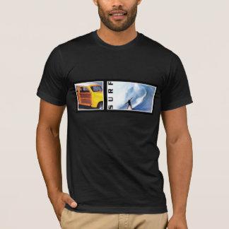 Camiseta Arte retro arborizado do surf