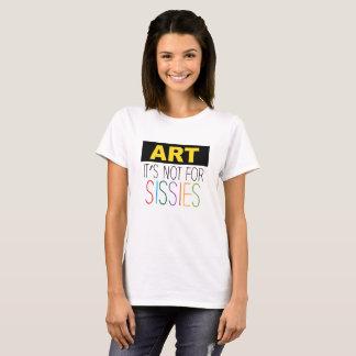 Camiseta Arte - sua não para o T das mariquinhas para ela