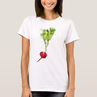 Camiseta Arte vegetal da ilustração do watercolour do