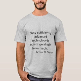 Camiseta Arthur C. Clarke - mágica