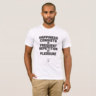 Camiseta Arthur Schopenhauer - poster inspirado das