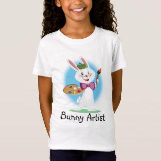 Camiseta Artista da arte do coelho