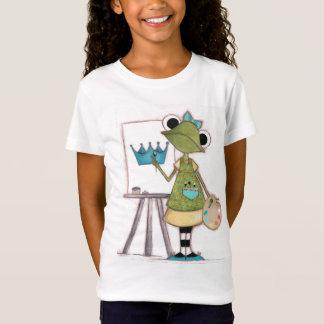 Camiseta Artista do sapo - o t-shirt das crianças