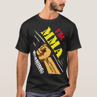 Camiseta Artista marcial misturado DE ADVERTÊNCIA
