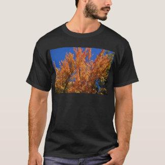 Camiseta Árvore alaranjada do fogo