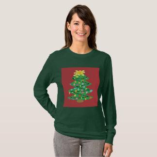 Camiseta Árvore antiquado