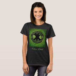 """Camiseta Árvore celta da """"do Tshirt da criança natureza"""" da"""